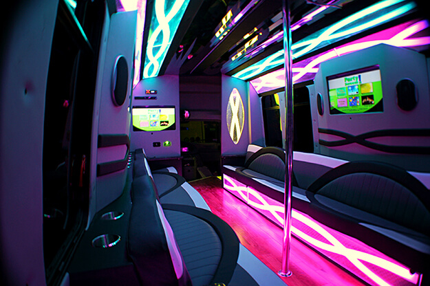 Detroit 24 Passenger Party Bus